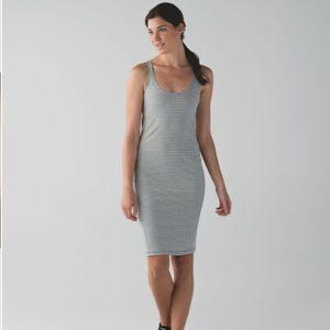 Lululemon | Hyper Stripe Go For It Dress